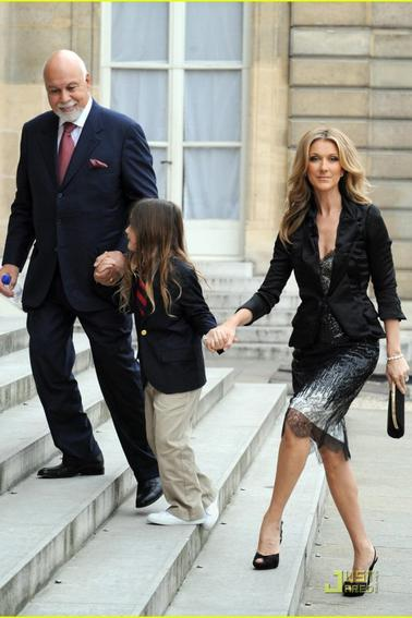 RENE-CHARLES DI... Celine Dion And Husband Age Difference