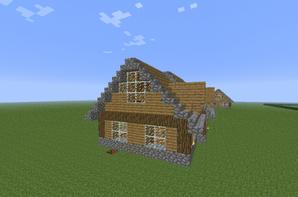 Petite maison en bois blog de construction minecraft - Maison en bois minecraft ...