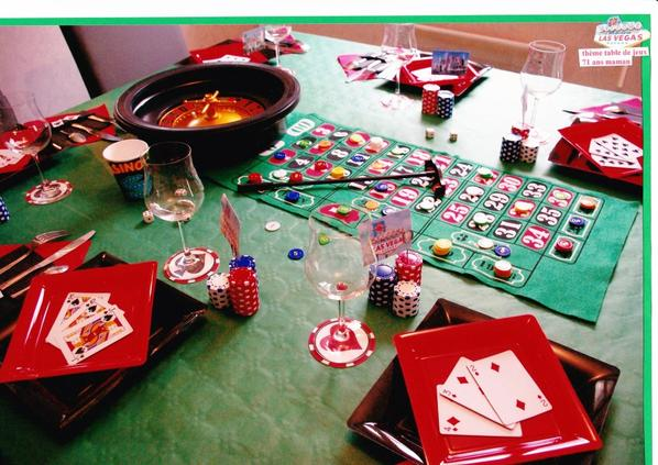 décoration de table jeux #3