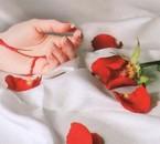 la vie et belle comme le parfain de rose et elle nous blesse