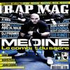 MEDINE EN COUVERTURE DU RAP MAG DE DECEMBRE