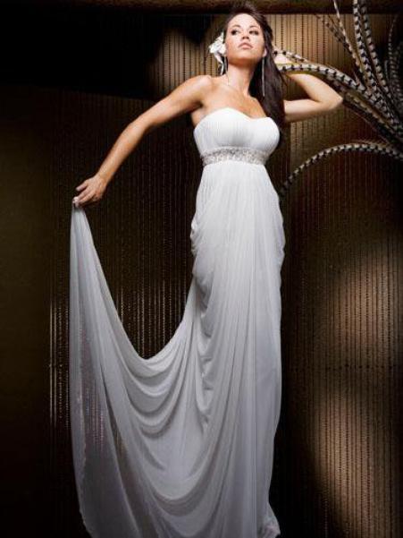 magnifique robe du soir tony bowls taille 38 40 drap e d esse grecque robe de soiree et de. Black Bedroom Furniture Sets. Home Design Ideas